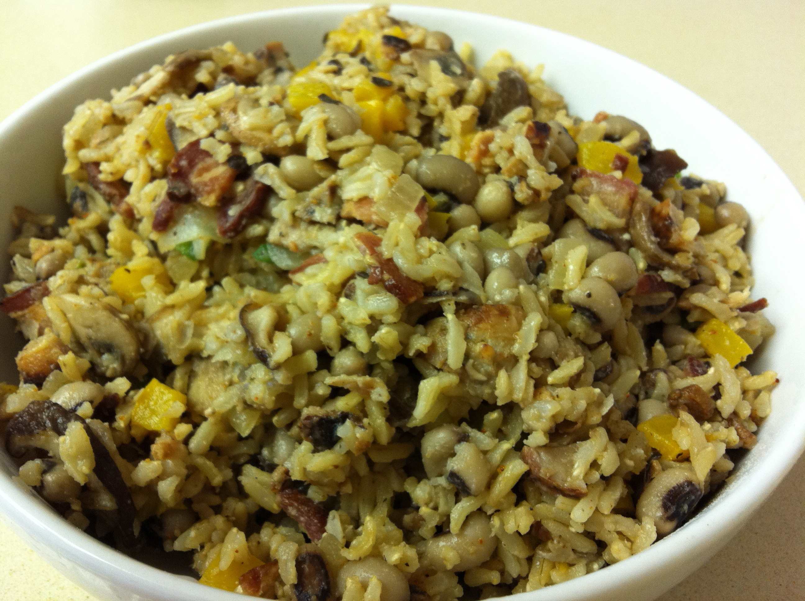 Hoppin' John (to serve at New Year's for Good Luck)