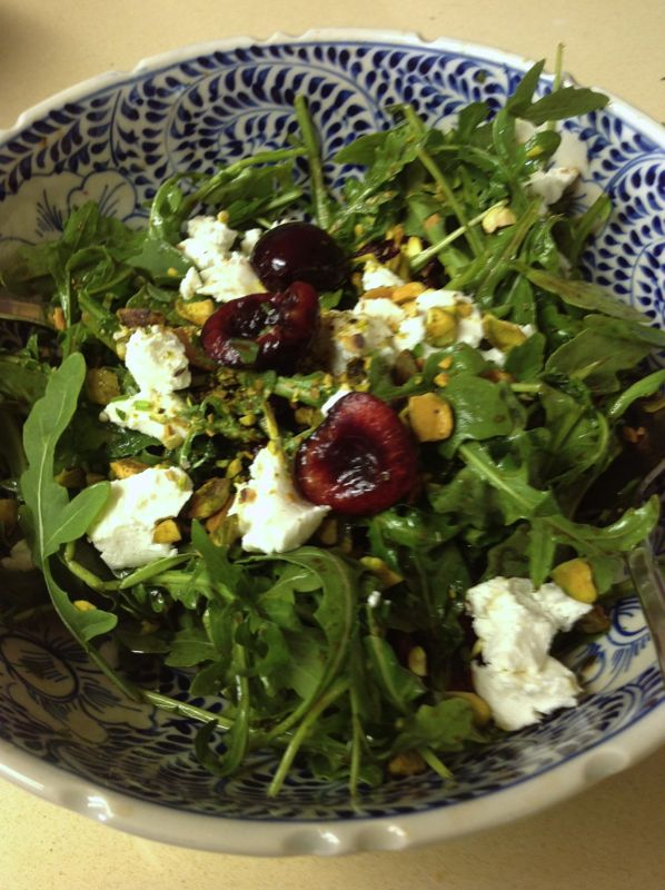Cherry-Arugula Salad