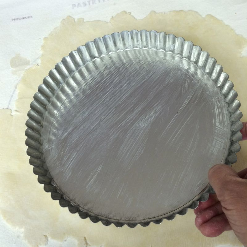 5_Greased small Tart Pan