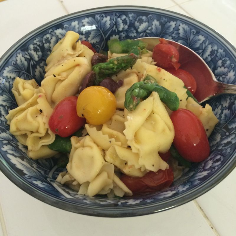 Summer Pasta Salad with Asparagus and Tomatoes