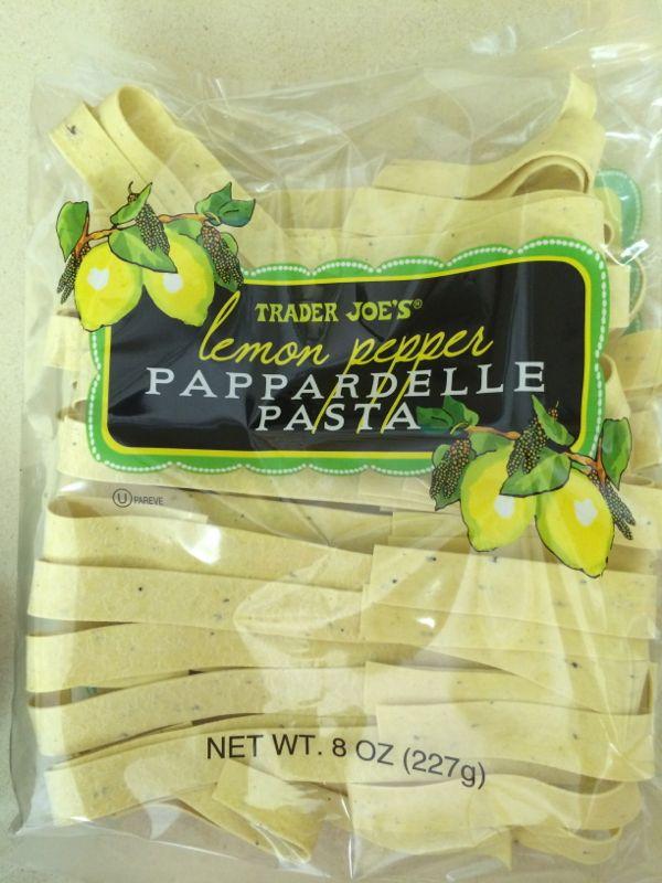 Lemon Pappardelle pasta