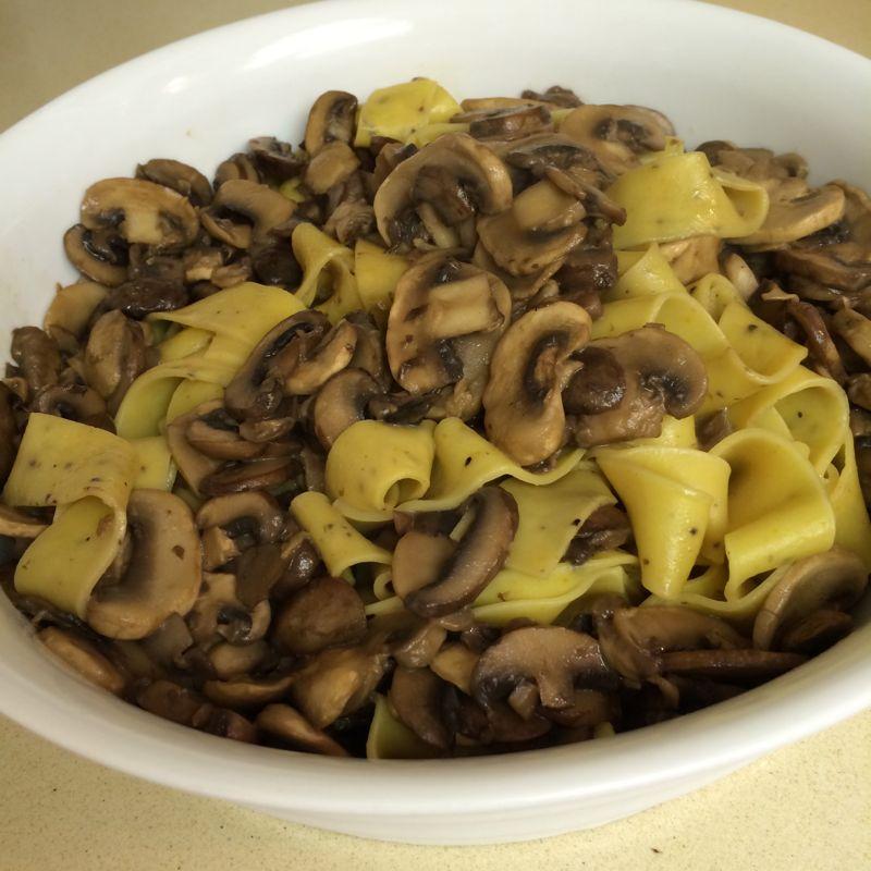 Soy and Mushroom Dish