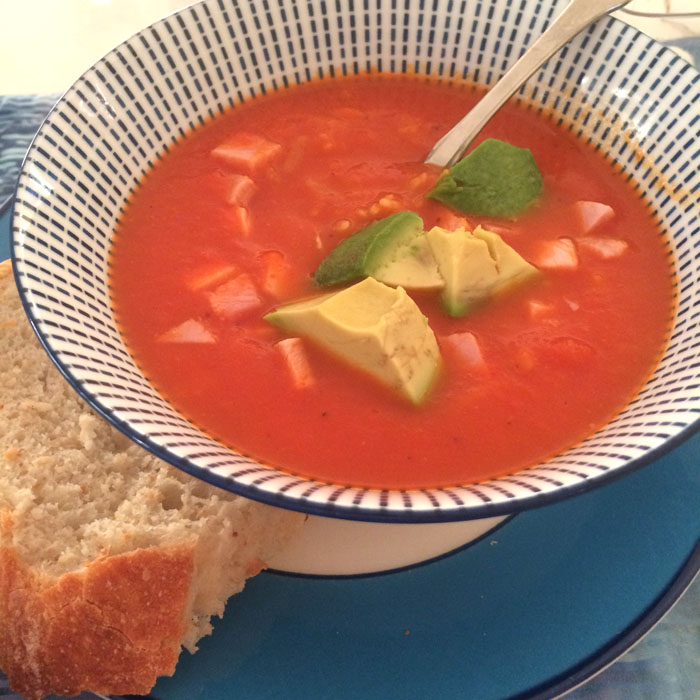 Red Pepper Orzo Soup_2